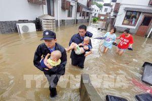 Trung Quốc chi hơn 42 triệu USD cứu trợ bão Lekima