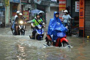 Hà Nội còn 16 điểm úng ngập khi có mưa lớn