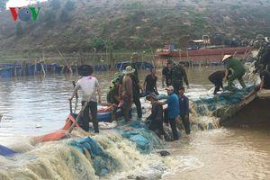 Khắc phục thành công sự cố vỡ đê Quảng Điền ở Đắk Lắk