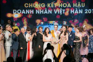 Về cuộc thi Hoa hậu doanh nhân Việt- Hàn 2019: 'Ngạc nhiên chưa'?