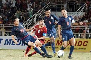 Hòa U18 Thái-lan, U18 Việt Nam khó vào bán kết