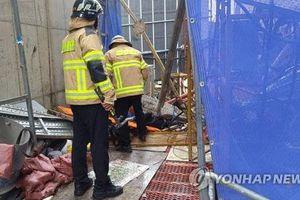 Hàn Quốc: Rơi thang máy công trường xây dựng làm sáu người thương vong