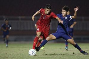 Hòa 0-0 trước Thái Lan, U18 Việt Nam mất quyền tự quyết vào bán kết