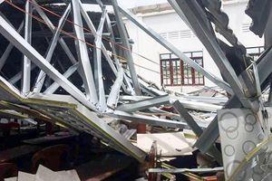 Hội trường ủy ban thị trấn ở Hậu Giang đổ sập sau 8 tháng khánh thành