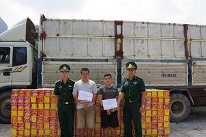 Hải quan Cao Bằng phối hợp bắt giữ gần 2,8 tấn pháo