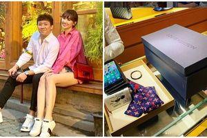 Những món đồ hàng hiệu Trấn Thành tặng khiến Hari Won 'phát run'