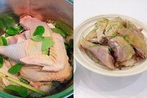 Làm gà hấp muối bị cháy nồi, khô thịt là vì bạn không biết mẹo này