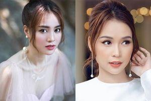 Trang điểm sương sương, Lan Ngọc hết bị nhầm là hot girl Sam đến diễn viên Phương Oanh