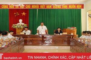Ngày 15/8, lãnh đạo Hà Tĩnh tiếp công dân định kỳ theo phương pháp '3 trong 1'