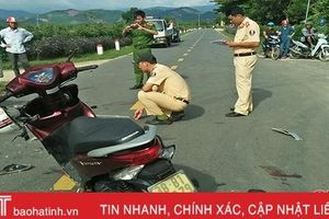 Va chạm xe máy, một người đàn ông tử vong trên đường đi cấp cứu