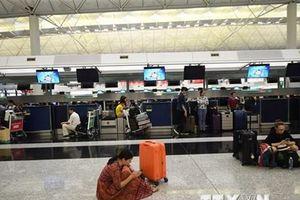Sân bay quốc tế Hong Kong được lệnh ngăn cản người gây rối