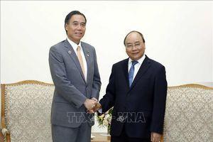 Thủ tướng Chính phủ tiếp Thống đốc tỉnh Nagano, Nhật Bản