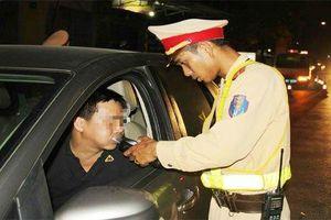 Tài xế uống rượu có thể bị tước giấy phép lái xe 2 năm