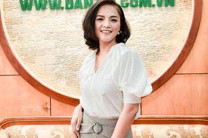 Thu Quỳnh: 'Tôi với bạn trai đang cố vun đắp cho tình yêu kết trái'