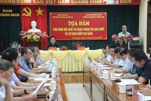 Hà Giang: Tọa đàm về tình hình hợp nhất giữa kiểm tra với thanh tra