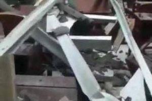 Đơn vị thi công nói gì về vụ sập mái Hội trường UBND thị trấn ở Hậu Giang?