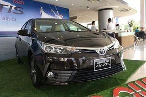 Phân khúc xe hạng C tháng 7/2019: Toyota Corolla Altis 'đội sổ' bán chậm