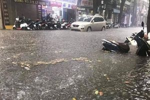Hà Nội còn tồn tại 16 điểm ngập úng tại các tuyến phố chính