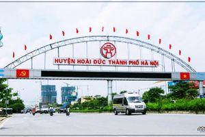 Hoài Đức sẽ trở thành quận mới của Hà Nội vào năm 2020