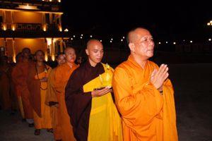 Lung linh Đại lễ Vu lan báo hiếu tại Học viện Phật giáo Việt Nam