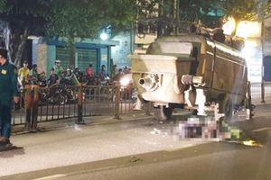 TP.HCM: 2 thanh niên tử vong sau cú va chạm với máy bơm bê tông