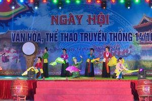 Nhiều hoạt động ý nghĩa tại Lễ kỷ niệm 130 năm ngày thành lập tỉnh và Ngày hội VHTTDL Thái Bình