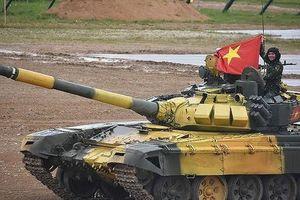 Việt Nam đang thi chung kết giải xe tăng quốc tế