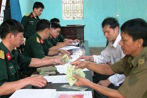 Tăng 7,19% mức trợ cấp hàng tháng đối với quân nhân phục viên, xuất ngũ