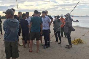 Vụ cán bộ Bộ Y tế bị sóng cuốn mất tích: Huy động hơn 100 người tìm kiếm nạn nhân
