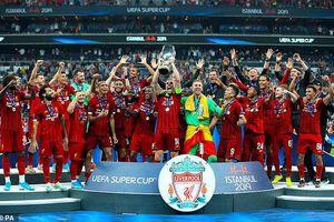 Liverpool vô địch Siêu Cúp châu Âu