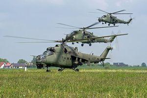 Nga đưa 8 trực thăng quân sự đến Mông Cổ