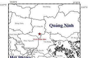 Động đất gây rung lắc tại Quảng Ninh