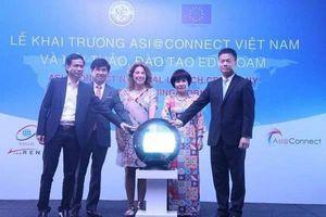 Khai trương dự án Mạng thông tin Á-Âu 'Asi@Connect' tại Việt Nam