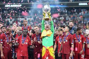 Đánh bại Chelsea trên chấm luân lưu, Liverpool lần thứ tư lên ngôi ở Siêu cúp châu Âu
