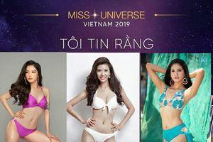 Fan Việt đề cử Thúy Vân - Bích Tuyền - Tiêu Ngọc Linh tham gia Miss Universe Vietnam 2019