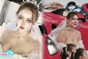 'Thất thần' với hình thật và hình trên mạng không liên quan gì đến nhau của hot girl mạng Trung Quốc