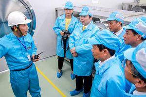 Khánh thành nhà máy sợi quang đầu tiên, Việt Nam không còn lo phụ thuộc nguyên liệu nhập khẩu