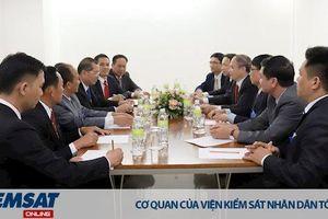 Viện kiểm sát quân sự hai nước Việt Nam - Lào tăng cường hợp tác trong đào tạo cán bộ