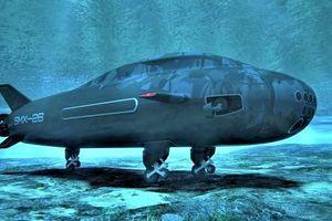 'Tàu ngầm bò sát' độc đáo SMX-26 của Pháp