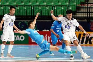 Thái Sơn Nam dừng bước tại bán kết giải Futsal các CLB châu Á
