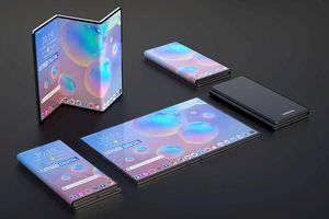 Chưa ra mắt Galaxy Fold, Samsung đã đăng ký bản quyền smartphone gập làm ba