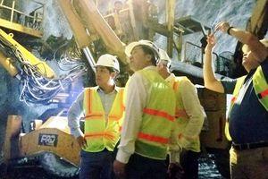 Công trình hầm Hải Vân 2 trên đường về đích sớm