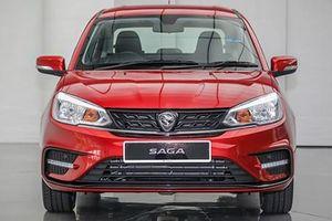 Cận cảnh xe siêu rẻ Proton Saga mới chỉ 182 triệu đồng