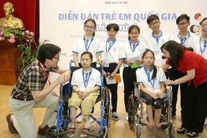 Khai mạc Diễn đàn trẻ em quốc gia lần thứ 6