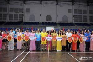 450 vận động viên tham dự Giải thể thao Đảng ủy Khối Các cơ quan tỉnh