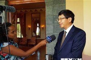 'Việt Nam hợp tác với các nước giải quyết tranh chấp Biển Đông'