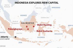 Tổng thống Indonesia chính thức trình kế hoạch chuyển thủ đô tới đảo Borneo
