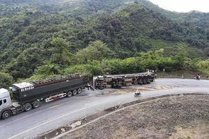 Lý do khiến container lật trên 'điểm đen' dốc Nà Lơi, Điện Biên