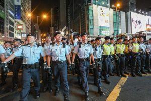 Biểu tình tại Hong Kong từ góc nhìn của lực lượng cảnh sát