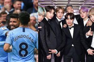 Manchester City 'phát cuồng' vì … nhóm nhạc BTS